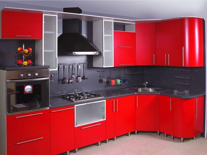 Хай тек дизайн кухни в хрущевке